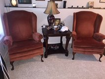 Pair of Vintage Wingback Reading chairs in Fort Knox, Kentucky