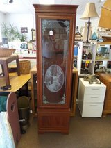 GUN CABINET WITH BOTTOM COMPARTMENT AND KEYS in Cherry Point, North Carolina