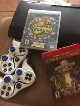 Playstation 3 500gig, 2 games and 2 controllers in Phoenix, Arizona
