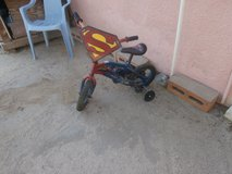 Child's Superman Bike in Yucca Valley, California