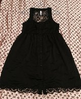 Pretty Little Black Lacy Dress for Pre-Teens Size S (14) in Okinawa, Japan