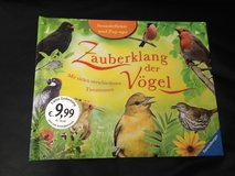 German 3D book of birds with real bird sounds in Ramstein, Germany