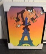 TAZ FRAME PICTURE ON PARIS EIFFEL TOWER in Ramstein, Germany