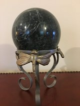 Marble Sphere in Naperville, Illinois