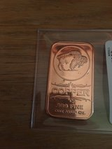1oz COPPER BAR/ BUFFALO .999 purity in Okinawa, Japan