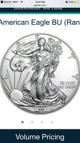 1oz SILVER AMERICAN EAGLE BU in Okinawa, Japan