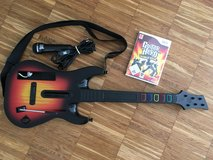 Nintendo Wii Guitar Hero, Game, Guitar and Microfon. in Ramstein, Germany