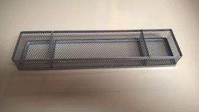 Mesh Desk Organizer Tray, Silver - Havelock in Cherry Point, North Carolina