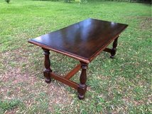 beautiful antique solid wood table from France in Ramstein, Germany