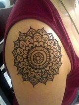 Win Free Henna Tattoos free free free this month in Spring, Texas