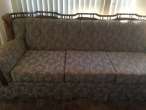 Old school couch in 29 Palms, California