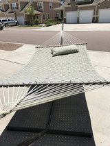 Large outdoor hammock with stand in Colorado Springs, Colorado