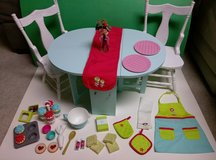 American Girl Baking Table and Chairs in Elgin, Illinois