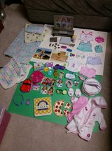 American Girl Doll Sleepover Party Set with TV in Bartlett, Illinois