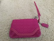 Pink coach wristlet in Naperville, Illinois