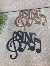 """SING"" Metal Wall Decor in Naperville, Illinois"