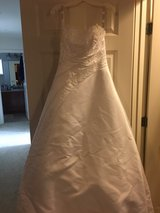 Wedding dress in Lackland AFB, Texas