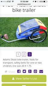 Adams Skoot Bike trailer in Camp Lejeune, North Carolina