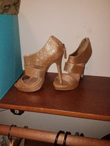 Gold heels in Fort Riley, Kansas