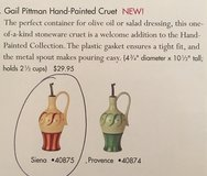 Southern Living a Home Hand Painted Cruet in Siena in Kingwood, Texas