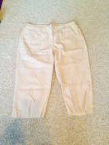 Off White Capris by Liz Claiborne. - 16 in Naperville, Illinois