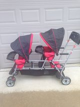 Joovy Caboose Sit-n-Stand Double Stroller in Columbus, Georgia