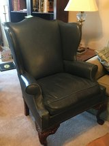 Toms Price leather queen Anne's chair in Bolingbrook, Illinois