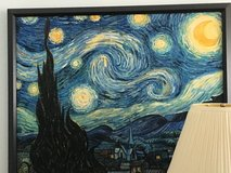 Framed Starry Night in Bartlett, Illinois