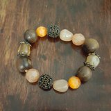 Earth Tones and Gems Bracelet in Conroe, Texas