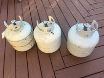 3 propane tanks for BBQ gril in Glendale Heights, Illinois
