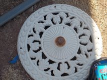Old Metal Top of Table Umbrella Stand? in Alamogordo, New Mexico