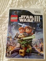 Lego Star Wars III: The Clone Wars (Nintendo Wii) in Glendale Heights, Illinois