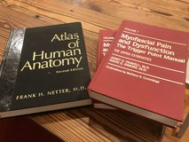 Atlas of human anatomy, myofascial pain and dysfunction volume 1 and 2 in Beaufort, South Carolina