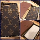 LV inspired leather cover iPhone 7plus in Vacaville, California