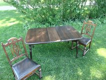 Vintage Chairs Table Set in Sugar Grove, Illinois