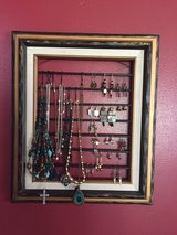 Art framed jewelry display in DeRidder, Louisiana