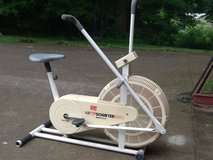 Exercise bike in Fort Campbell, Kentucky
