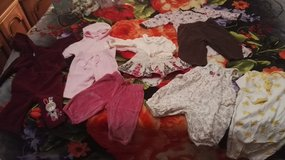 set of baby girl clothing size 0mo/3mo in Ramstein, Germany