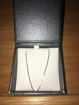 SILVER NECKLACE: Box Chain- 18in in Okinawa, Japan