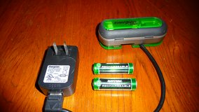 **Energizer AA / AAA portable battery charger with batteries. in Okinawa, Japan