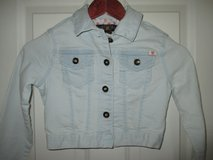 Girls Lucky Brand Cropped Denim Jacket Size Small - Excellent Condition in Plainfield, Illinois
