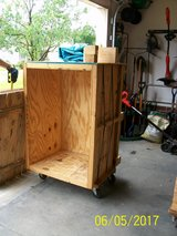 Wood shipping crate for sale in Goldsboro, North Carolina