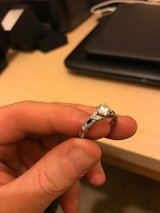 Kirk Kara Engagment ring and wedding band, brand new, save thousands in San Clemente, California