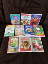 10 Kids DVD'S in Kingwood, Texas