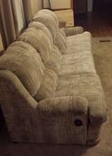Couch with pull-out mattress (8'L x 3.5'W x 3'T) in Fort Riley, Kansas