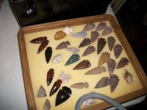 arrowheads displays in Valdosta, Georgia