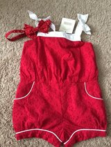 Janie & Jack Romper w/tags and Hairbow in Clarksville, Tennessee