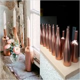 painted copper bottles decoration for wedding, birthday in Baumholder, GE