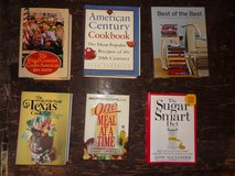36 cook book library - some pretty pricy - selling as one lot in Tomball, Texas