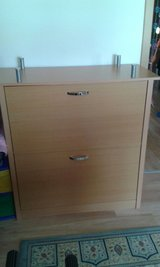 cabinet with shelves inside in Ramstein, Germany